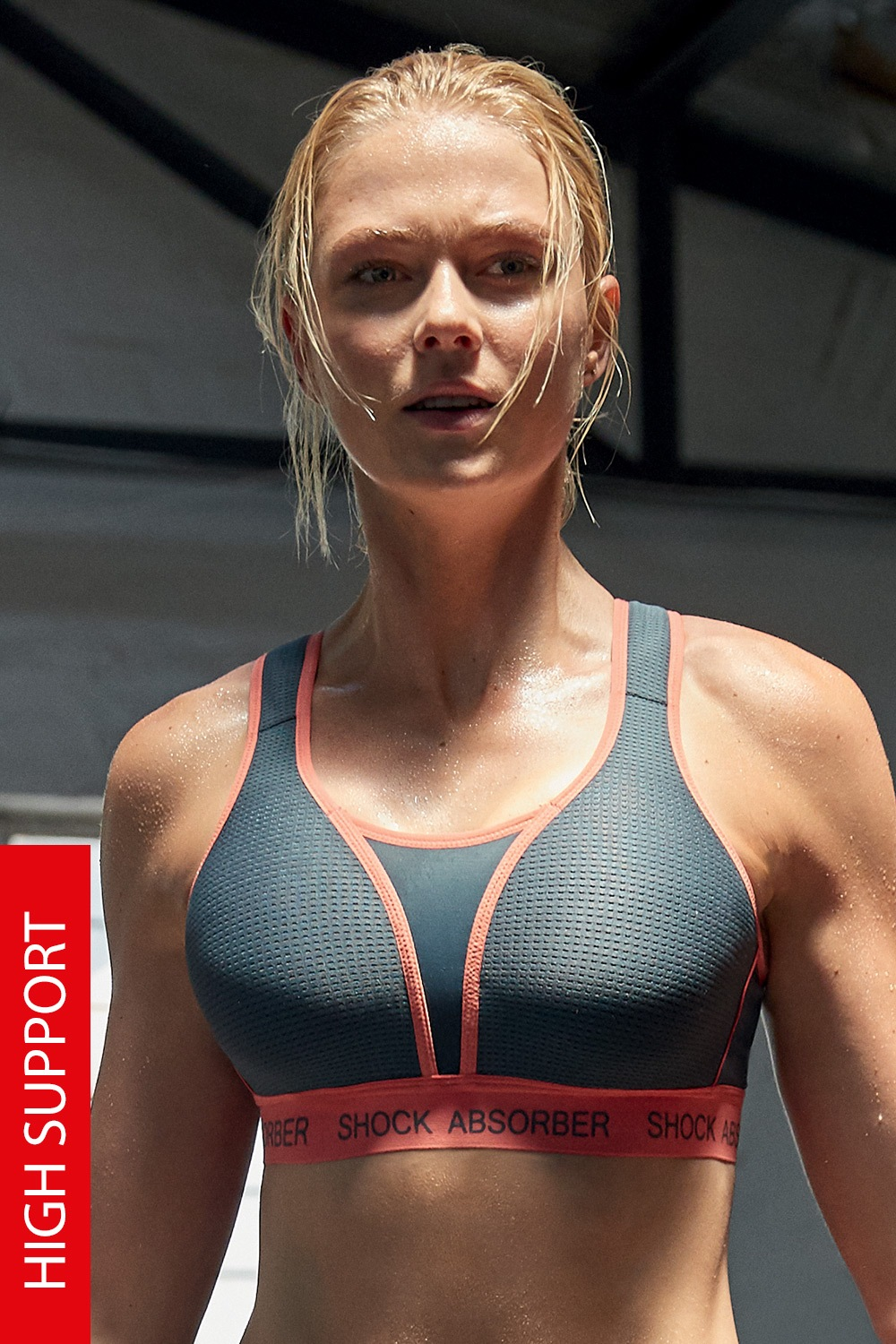 Sutien sport Shock Absorber Ultemate Run Bra Padded de la Shock absorber