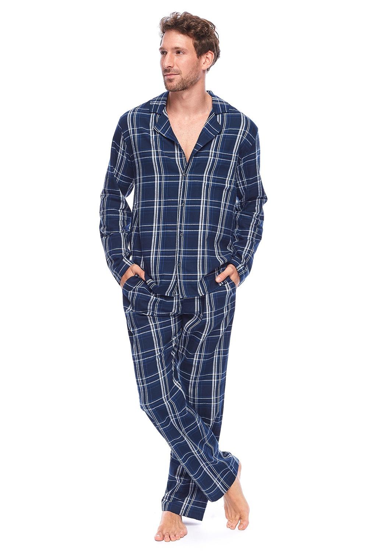 Pijama barbateasca Alan, stil camasa de la Rössli