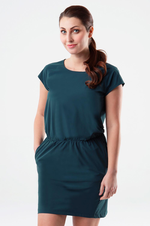 Rochie pentru femei LOAP Umbria, verde-albastru