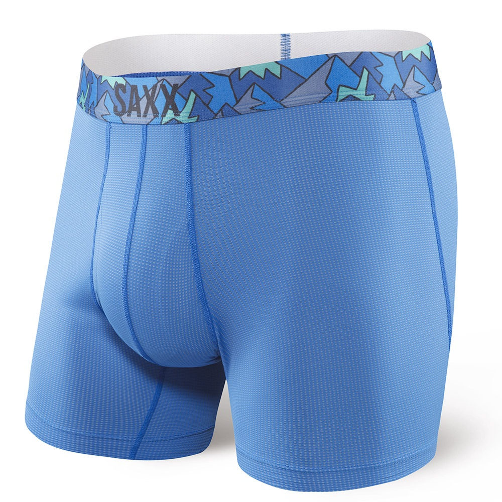 Boxeri barbatesti SAXX Quest 2.0 Pure Blue
