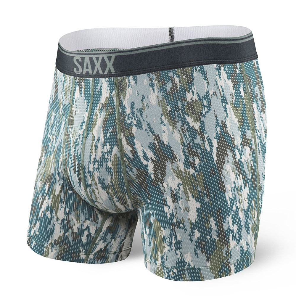 Boxeri barbatesti SAXX Quest 2.0 Bark Camo