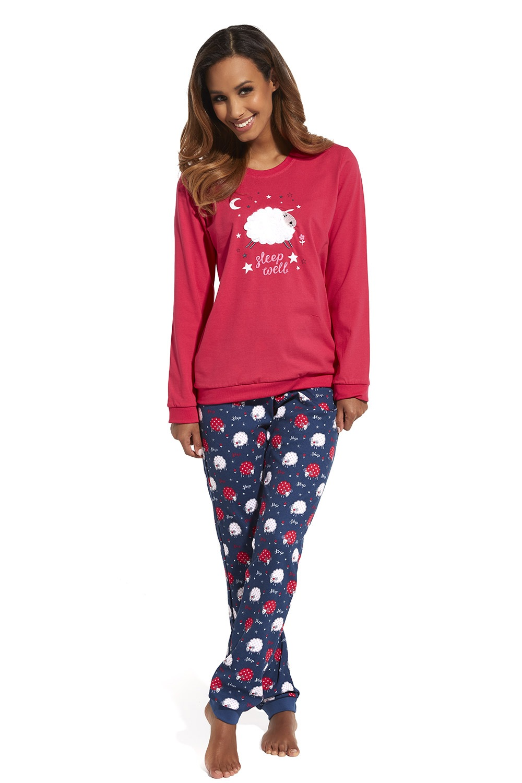 Pijama dama Sleep well, din bumbac