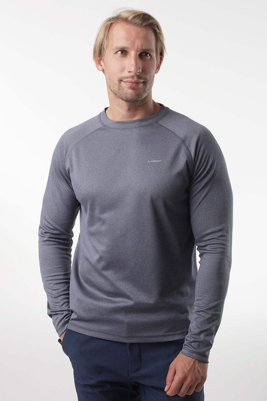 Bluză LOAP Pedro, gri, material funcţional