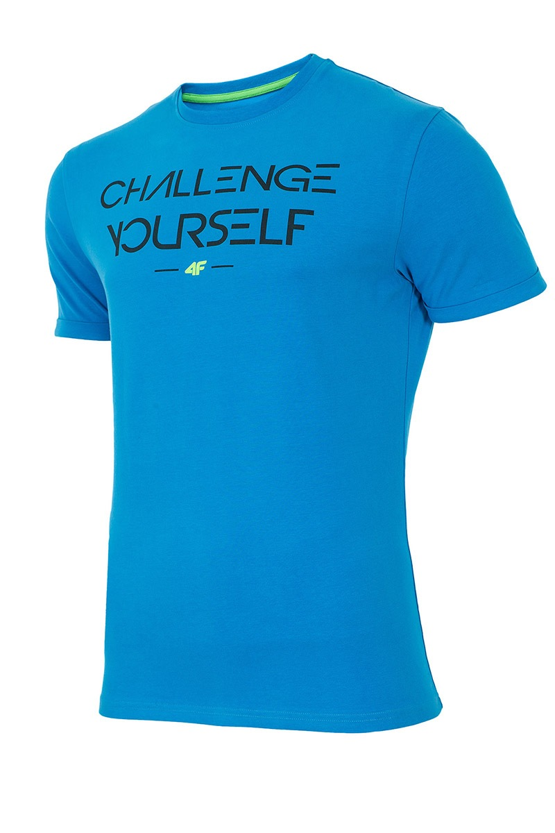 Tricou sport barbatesc 4F Challenge yourself