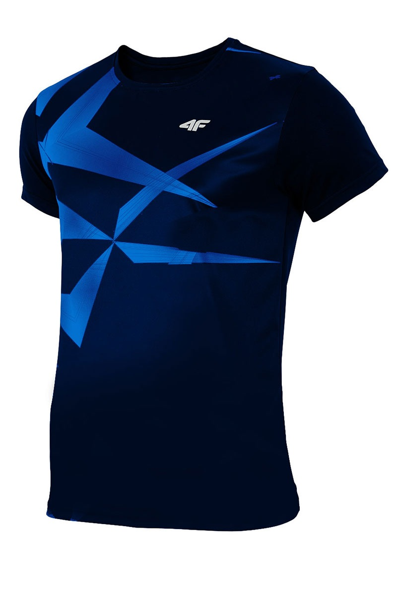 Tricou sport barbatesc Blue effect