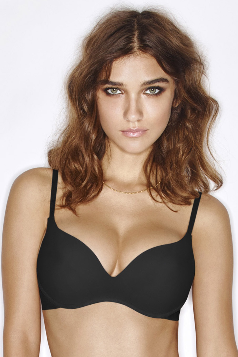 Sutien Wonderbra T-Shirt Bra Wireless negru de la Wonderbra