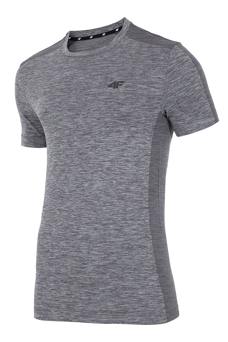 Tricou barbatesc 4F Dry Control Melange, material functional