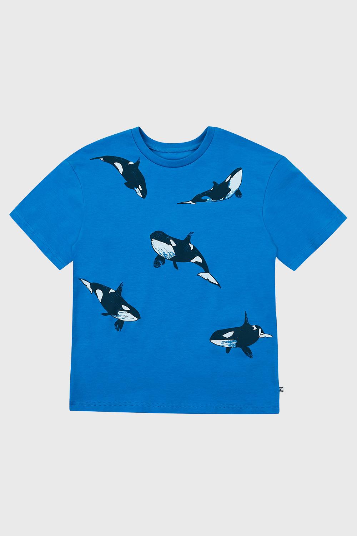 Tricou băieți Whales
